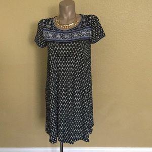 Max Studio Adorable Short Sleeve Print Dress 🌹 M